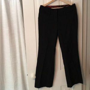 Maurice's black dressy pants 7/8